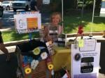 Gail Heller at the Farmer's Market