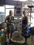 Gail Heller at the Marietta Wine Market