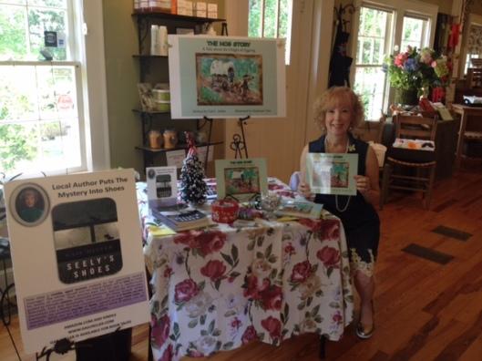 Book Signing at Oli & Vi Roswell GA